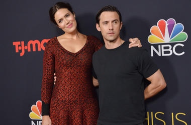"""Mandy Moore and Milo Ventimiglia at NBC's """"This Is Us"""" Season 3 Premiere Screening held at the Paramount Studios in Los Angeles, CA on Tuesday, September 25, 2018."""