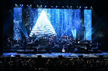 Mannheim Steamroller performed in concert at The Kravis Center in West Palm Beach, Florida.
