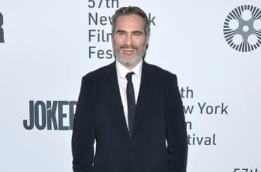 "Actor Joaquin Phoenix attends the ""Joker"" Premiere at the 57th New York Film Festival in New York, NY, October 2, 2019."