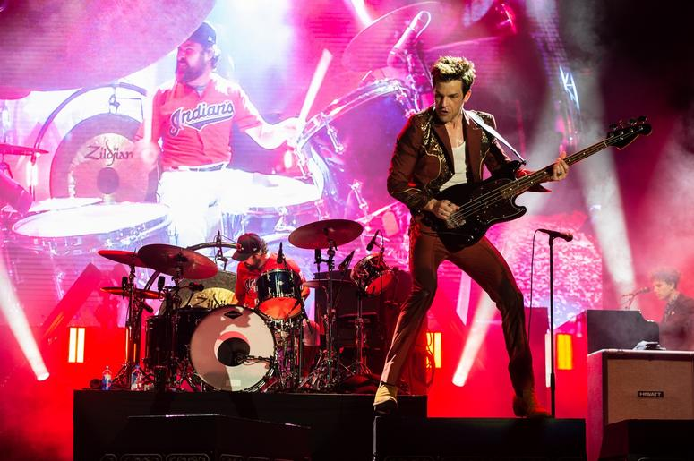 The Killers Cleveland MLB All-Star Concert