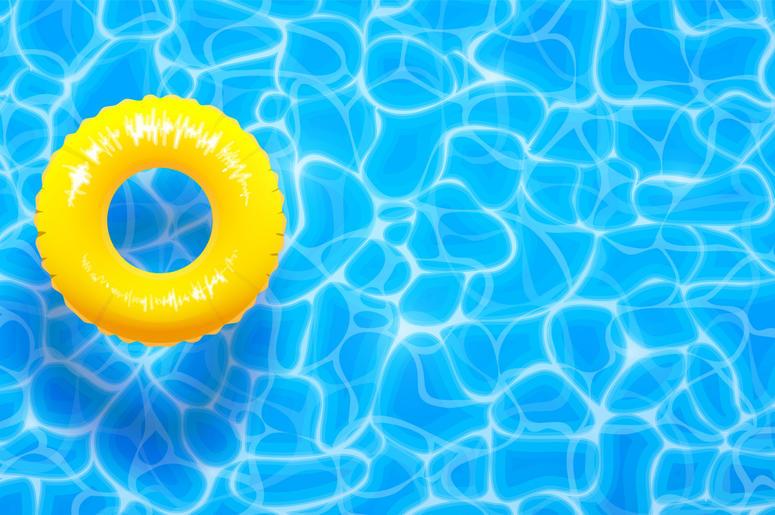 Water pool summer