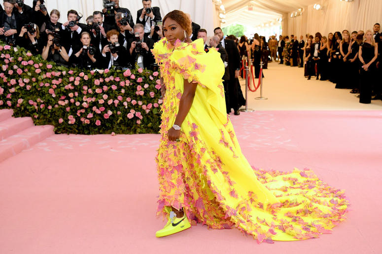 Serena Williams attends The 2019 Met Gala