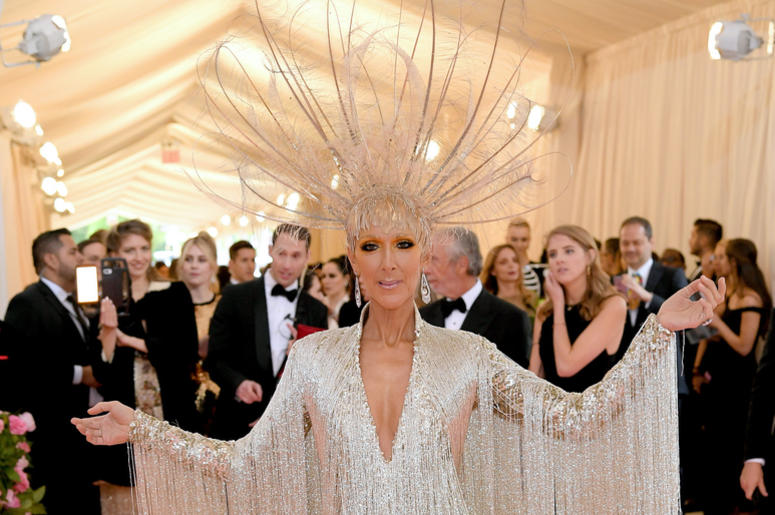 Celine Dion attends The 2019 Met Gala