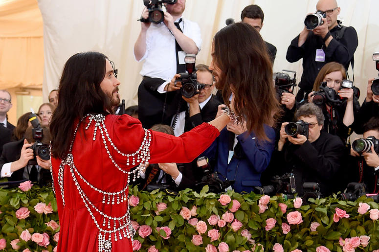 Jared Leto attends The 2019 Met Gala