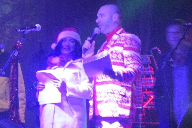 Jen & Tim at Pinecrest Tree Lighting Celebration