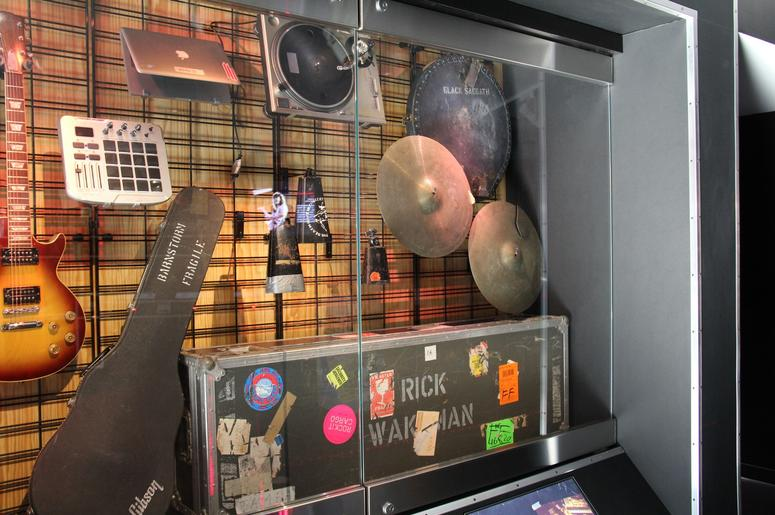 The Rock Hall's Garage Exhibit