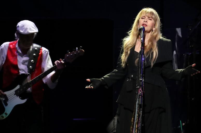 Stevie Nicks performs with Fleetwood Mac