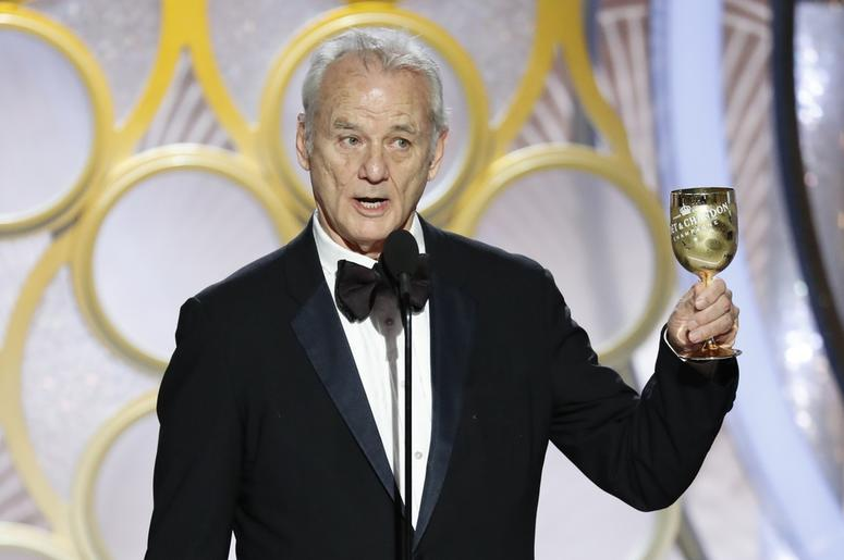 Bill Murray during the 76th Golden Globe Awards at the Beverly Hilton.