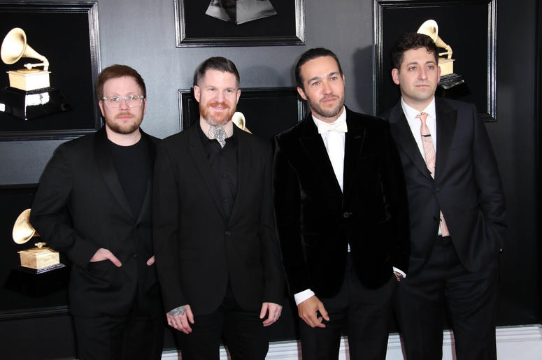 61st Annual GRAMMY Awards red carpet