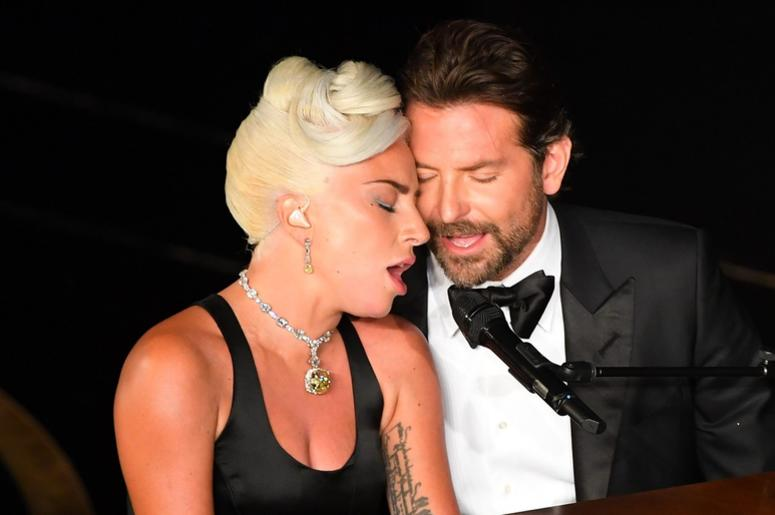 Lady Gaga and Bradley Cooper during the 91st Academy Awards
