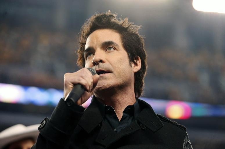 Singer and entertainer Pat Monahan
