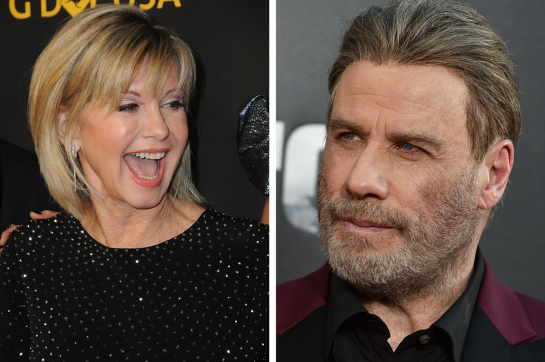 John Travolta, Olivia Newton John Reunite for Grease