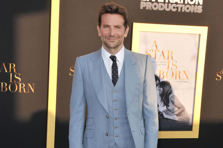 """Bradley Cooper arrives at """"A Star Is Born"""" Los Angeles Premiere held at The Shrine Auditorium & Expo Hall in Los Angeles, CA on Monday, September 24, 2018."""