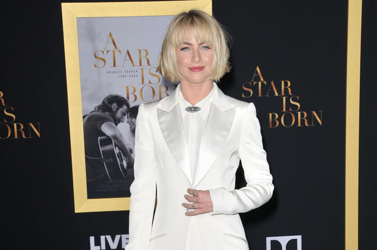 """Julianne Hough arrives at """"A Star Is Born"""" Los Angeles Premiere held at The Shrine Auditorium & Expo Hall in Los Angeles, CA on Monday, September 24, 2018."""