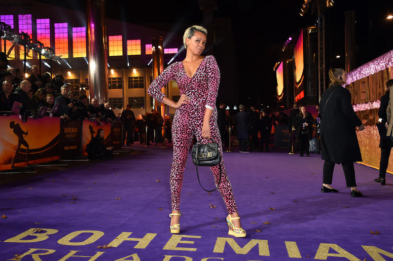 Gemma Cairney attending the Bohemian Rhapsody World Premiere held at the the SSE Arena, Wembley, London.
