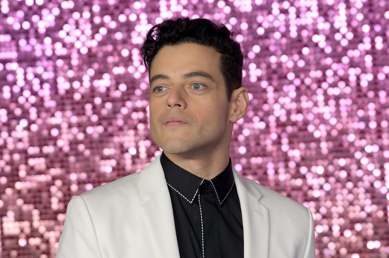 Rami Malek attending the Bohemian Rhapsody World Premiere held at The SSE Arena, London.