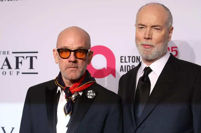 Michael Stipe attends the 17th Annual An Enduring Vision gala at Cipriani in New York.