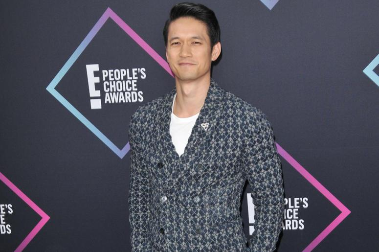 Harry Shum Jr arrives at the 2018 E! People's Choice Awards held at the Barker Hangar in Santa Monica, CA on Sunday, November 11, 2018.