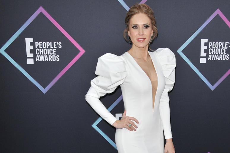 Alejandra Azcarate arrives at the 2018 E! People's Choice Awards held at the Barker Hangar in Santa Monica, CA on Sunday, November 11, 2018.