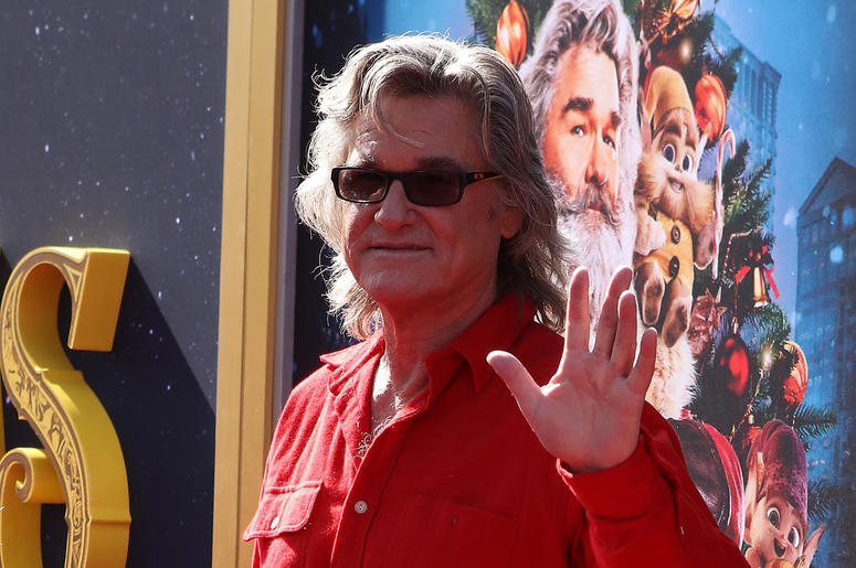 Kurt Russell attends the Los Angeles Premiere 'The Christmas Chronicles' held at Regency Bruin Theatre on November 18, 2018 in Los Angeles, California,