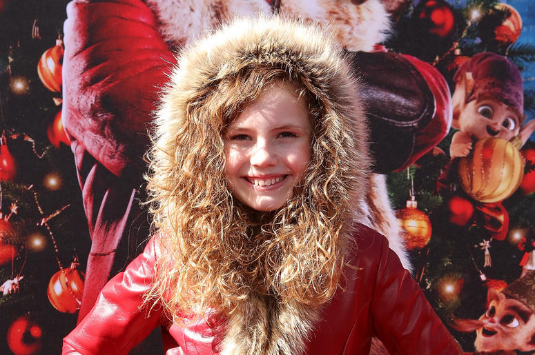 Darby Camp attends the Los Angeles Premiere 'The Christmas Chronicles' held at Regency Bruin Theatre on November 18, 2018 in Los Angeles, California,