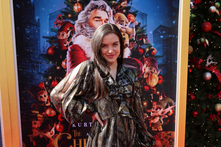 Lilimar attends the Los Angeles Premiere 'The Christmas Chronicles' held at Regency Bruin Theatre on November 18, 2018 in Los Angeles, California