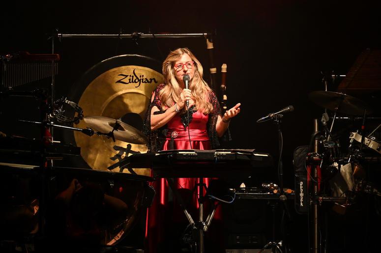 WEST PALM BEACH, FL - NOVEMBER 21: Mannheim Steamroller in concert at The Kravis Center in West Palm Beach, Florida on November 21, 2018.