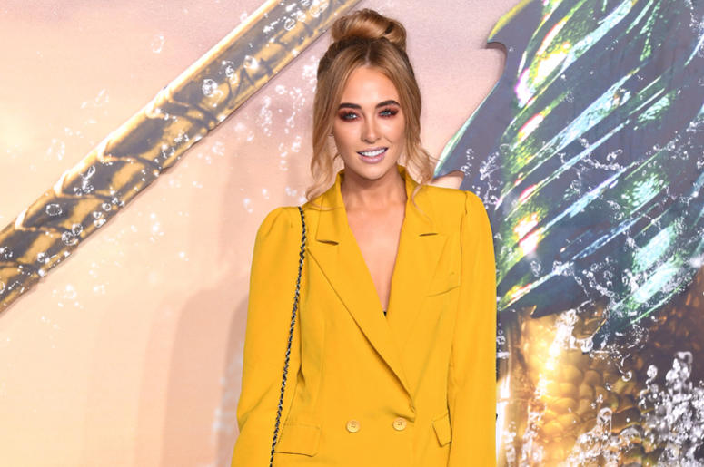 Nicola Hughes attending the Aquaman premiere held at Cineworld in Leicester Square, London on November 26, 2018.