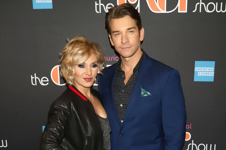 """Orfeh and Andy Karl attend the opening night of """"The Cher Show"""" on Broadway at the Neil Simon Theatre in New York."""