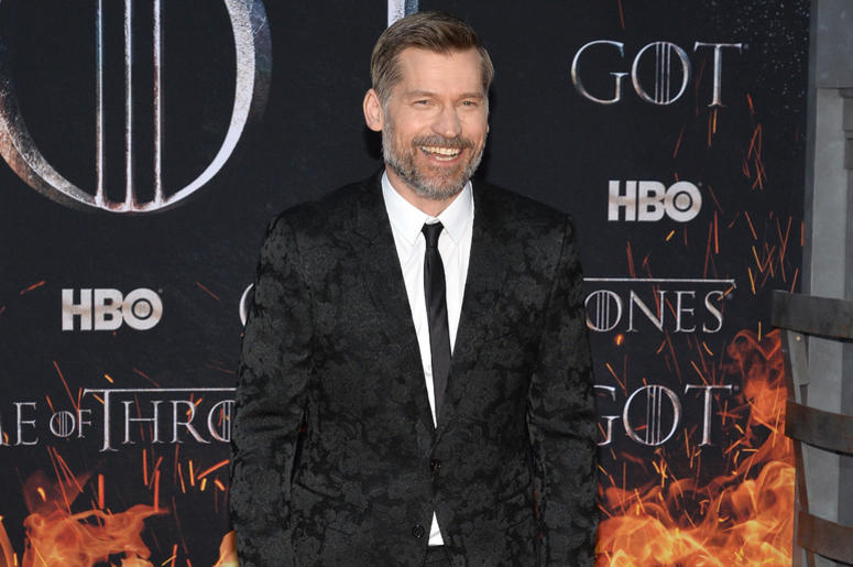 """Nikolaj Coster-Waldau attend HBO's """"Game of Thrones"""" eight and final season premiere at Radio City Music Hall in New York, NY, April 3, 2019."""