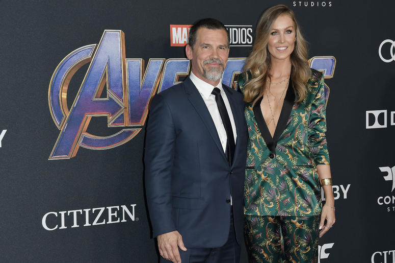 """(L-R) Josh Brolin and Kathryn Boyd at Marvel Studios' """"Avengers: Endgame"""" World Premiere held at the Los Angeles Convention Center in Los Angeles, CA on Monday, April 22, 2019."""