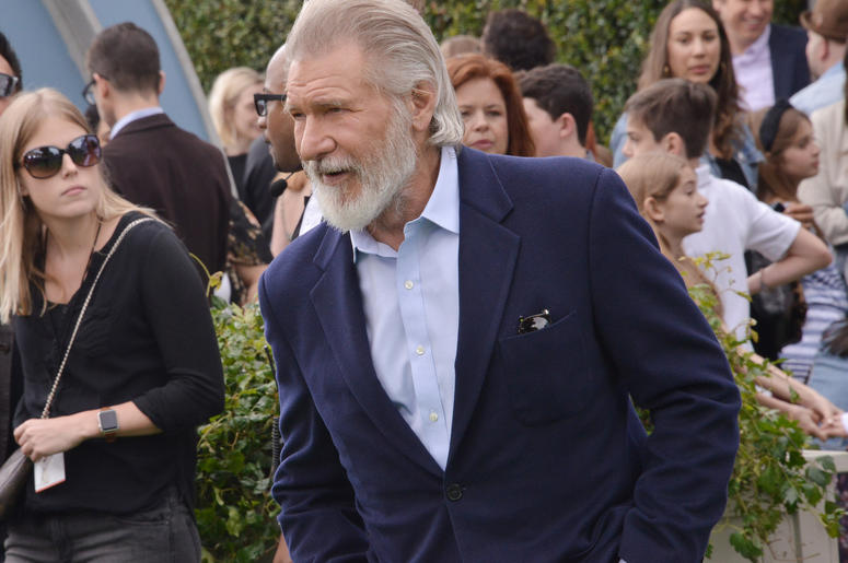 Harrison Ford arrives at the Universal Pictures THE SECRET LIFE OF PETS 2 Los Angeles Premiere held at the Regency Village Theatre in Westwood, CA on Sunay, June 2, 2019.