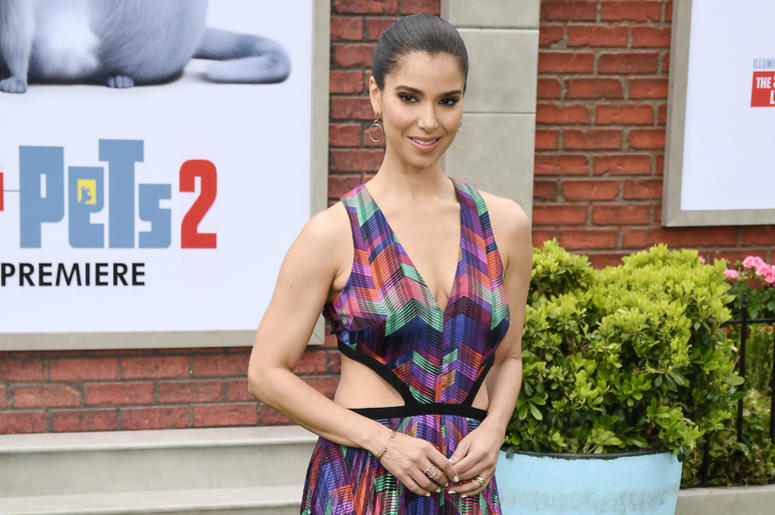 Roselyn Sanchez arrives at the Universal Pictures THE SECRET LIFE OF PETS 2 Los Angeles Premiere held at the Regency Village Theatre in Westwood, CA on Sunay, June 2, 2019.