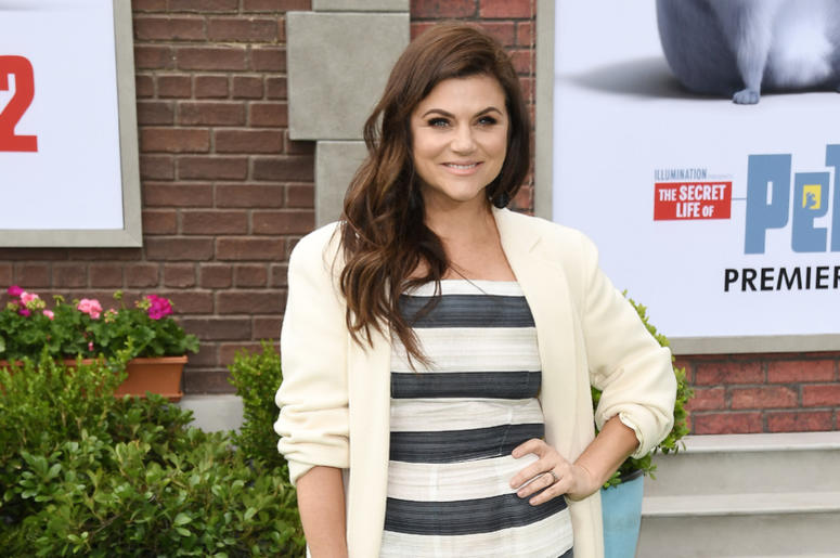 Tiffani Thiessen arrives at the Universal Pictures THE SECRET LIFE OF PETS 2 Los Angeles Premiere held at the Regency Village Theatre in Westwood, CA on Sunay, June 2, 2019.