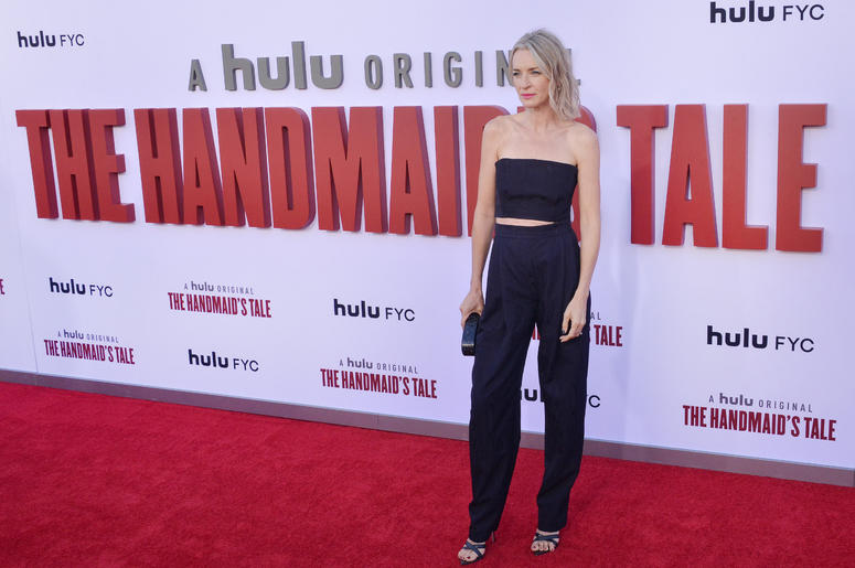 Ever Carradine arrives at Hulu's THE HANDMAID'S TALE Season 3 Finale held at the Regency Village Theatre in Westwood, CA on Tuesday, August 6, 2019.