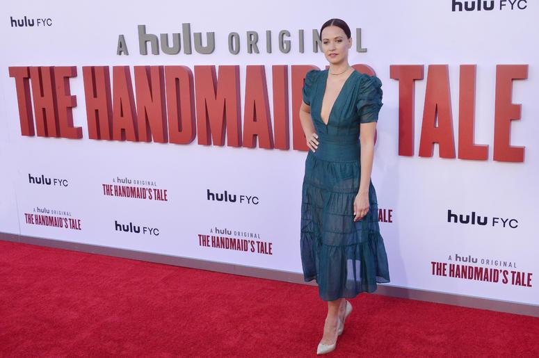 Kristen Gutoskie arrives at Hulu's THE HANDMAID'S TALE Season 3 Finale held at the Regency Village Theatre in Westwood, CA on Tuesday, August 6, 2019.