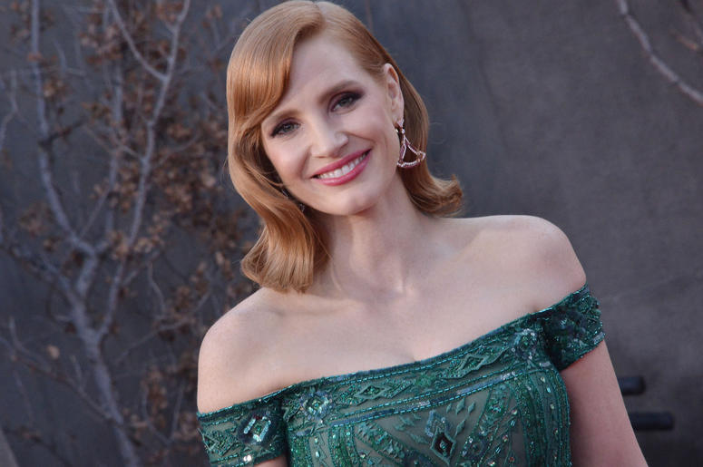 Jessica Chastain arrives at the Warner Bros. Pictures' IT CHAPTER TWO Premiere held at the Regency Village Theatre in Westwood, CA on Monday, August 26, 2019.
