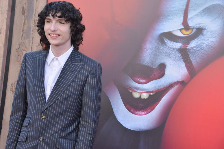 Finn Wolfhard arrives at the Warner Bros. Pictures' IT CHAPTER TWO Premiere held at the Regency Village Theatre in Westwood, CA on Monday, August 26, 2019.