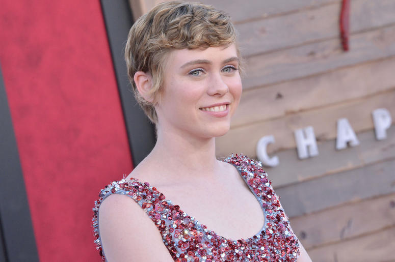Sophia Lillis arrives at the Warner Bros. Pictures' IT CHAPTER TWO Premiere held at the Regency Village Theatre in Westwood, CA on Monday, August 26, 2019.