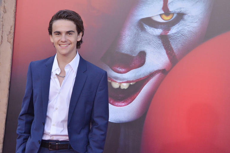 Jack Dylan Grazer arrives at the Warner Bros. Pictures' IT CHAPTER TWO Premiere held at the Regency Village Theatre in Westwood, CA on Monday, August 26, 2019.