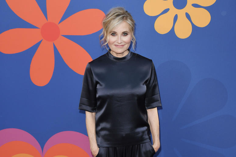Maureen McCormick arrives at HGTV's A VERY BRADY RENOVATION Los Angeles Premiere held at The Garland Hotel in North Hollywood, CA on Thursday, September 5, 2019.
