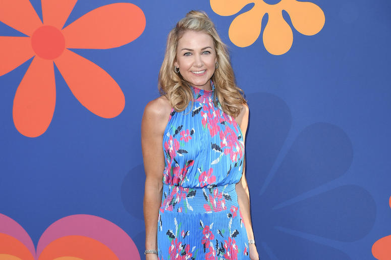 Kelsey McCallister arrives at HGTV's A VERY BRADY RENOVATION Los Angeles Premiere held at The Garland Hotel in North Hollywood, CA on Thursday, September 5, 2019.
