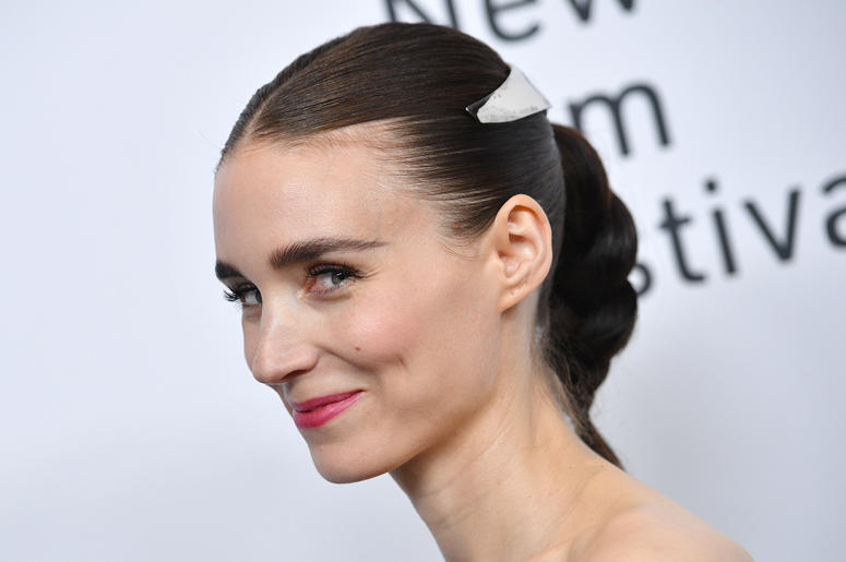 """Actress Rooney Mara attends the """"Joker"""" Premiere at the 57th New York Film Festival in New York, NY, October 2, 2019."""