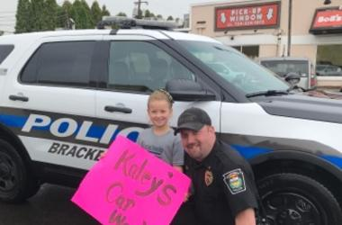 Kaley Bastine and Police Department