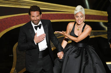 Bradley Cooper and Lady Gaga perform onstage during the 91st Annual Academy Awards at Dolby Theatre on February 24, 2019