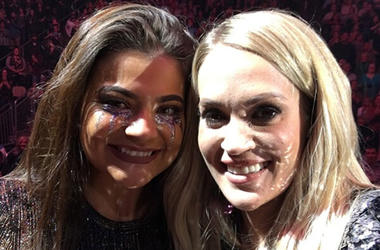 Molly and Carrie Underwood