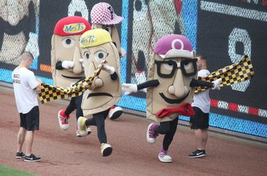 Pittsburgh Pirates Pierogi race