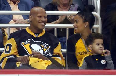 Ryan Shazier and family