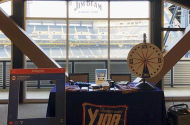 Y108 PNC Park Jim Beam