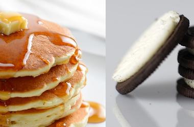 pancakes and oreos